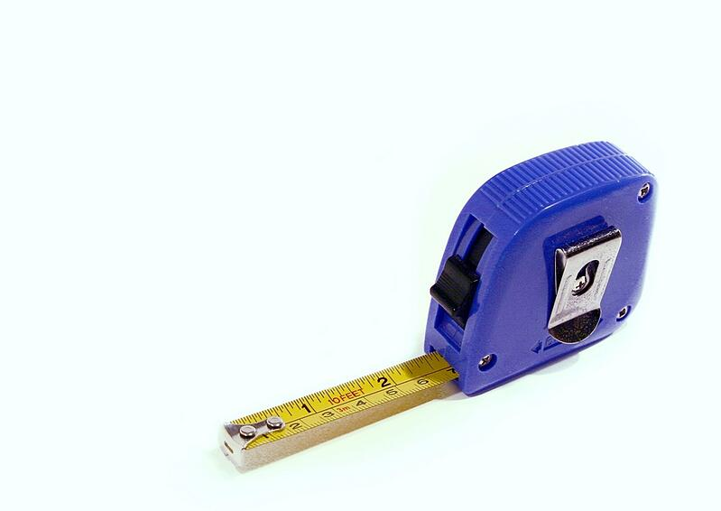 Blue & Yellow Tape Measure