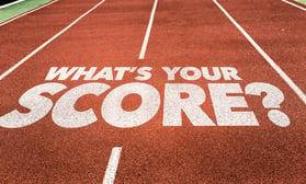 Whats Your Score? written on running track.jpeg